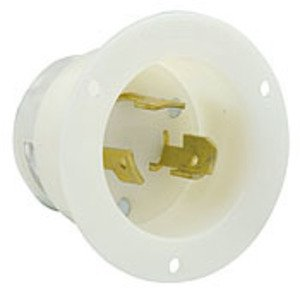 Leviton 3334-C Cd/ind_flanged Inlet