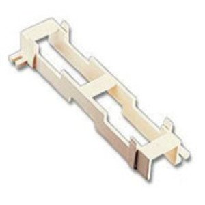 "Leviton 40089-B Standoff Bracket For M Blocks (89-b) 10"" H X 3-13/32"" W X 1-1/2"" D"