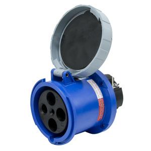 Leviton 4100R9W 100 Amp, 250 Volt Receptacle, Watertight