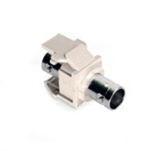 Leviton 41084-BTF Adpt Bnc Nickel Lt Alm
