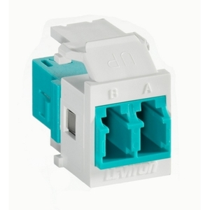 Leviton 41085-LLW Snap-In LC Adapter