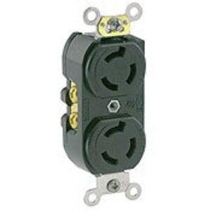Leviton 4550 15 Amp, 250 Volt, NEMA L6-15R Duplex Receptacle