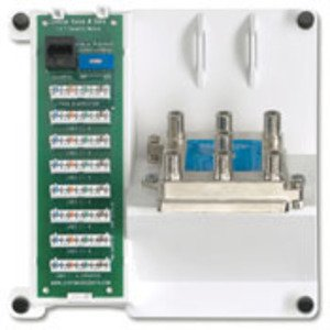 Leviton 47603-TSV Telephone Security and 6-Way Video Panel