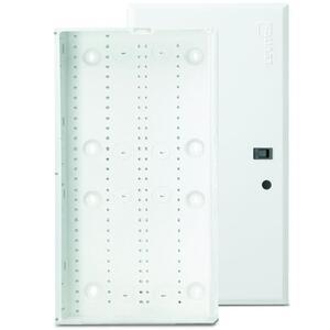 "Leviton 47605-28W 28"" Enclosure, Flush Cover, Series 280, 28""H x 14.3""W x 3.6""D, White"