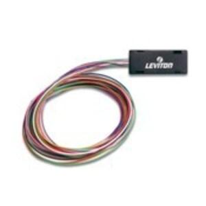 """Leviton 49887-6L Fiber Optic Fan-Out Kit, 6-fiber, 36"""""""