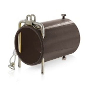 Leviton 49COP-H In-Line Coupler for Connectors, Powder Coated Aluminum, Brown