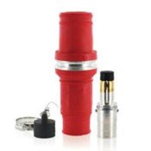 Leviton 49M77-R Single Pole Male Plug, 1135A Max, 777 MCM, Red