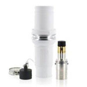 Leviton 49M77-W Single Pole Male Plug, 1135A Max, 777 MCM, White