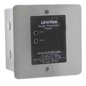 Leviton 51120-3 Surge Protective Device, 208Y/120V, 50 kA, Load Center, 3PH