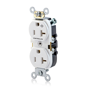 Leviton 5362 s1w leviton 5362 s1w controlled duplex receptacle 1 leviton 5362 s1w controlled duplex receptacle 1 plug controlled white publicscrutiny Image collections