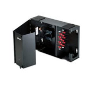 Leviton 5W170-N Small Enclosure, Empty, Solid Metal Door, (1) Lock/Key