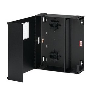 Leviton 5W770-N Large Enclosure, Empty, Solid Metal Door, (1) Lock/Key