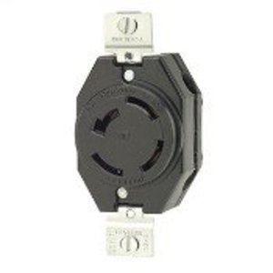 Leviton 7410-B Locking Receptacle, Non-NEMA, 20A, 3PH 120/208V, 4P4W