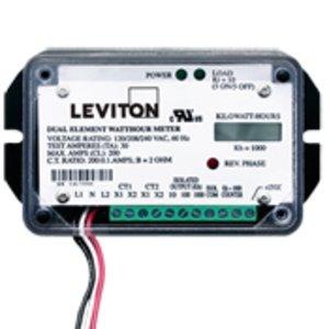 Leviton 7B101-H01 LEV 7B101-H01 WATT HR METER