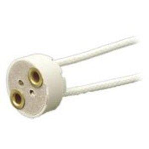 Leviton 80054 Mini Bi-Pin Lampholder, White