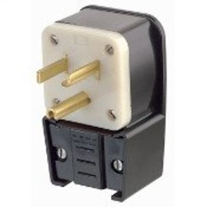 Leviton 9530-P 30 Amp Angle Plug, 125V, 5-30P, Grounding