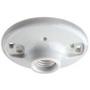 Leviton 9875 Incandescent Lampholder, Medium Base, Keyless