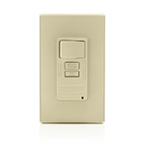 Leviton AFSW1-I 15 Amp Switch, 20 Amp Feed-Through, Ivory