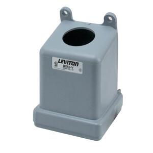 Leviton BX60-V 60 Amp Pin & Sleeve Back Box