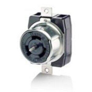 Leviton CS6370 Locking Receptacle, 50A, 125V, Cali Style, 2P3W
