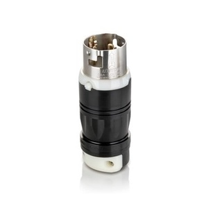 Leviton CS8165C Locking Plug, 50A, 3PH 480V, California Style, 3P4W