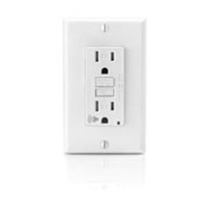 Leviton GFTA1-W Self-Test Audible GFCI, White