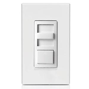 Leviton IPX06-10Z Slide Dimmer, Fluorescent, IllumaTech, White