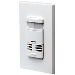 Leviton OSSMT-MDW Occupancy Sensor, Multi-sensing, Wall Mount, 180°