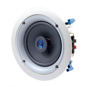 "Leviton SGC65-W 2-Way Ceiling Mount Loud Speaker, 6-1/2"", White"
