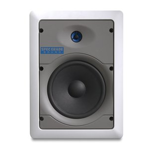 "Leviton SGI65-W 6.5"" 2way in wall mount loud speaker"