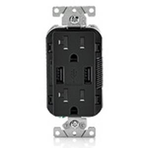 Leviton T5832-E 20 Amp USB Charger Device