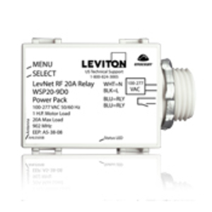 Leviton WSP20-9D0 Wireless RF Relay Power Pack