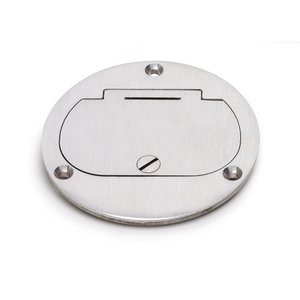 Lew DFB-1-A Hinged Cover for Duplex, Aluminum