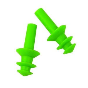 Lift Safety ACG-7G6 Flange Ear Plugs - Green, 6 Pair per Box