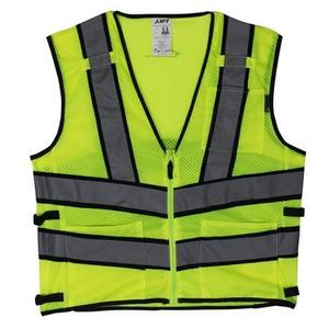 Lift Safety AV2-10L1L Safety Vest, Viz-Pro 2 - Size: X-Large, Yellow