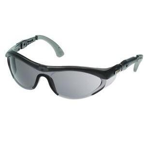 Lift Safety EFR-6ST Flanker Protective Eyewear - Translucent, Smoke