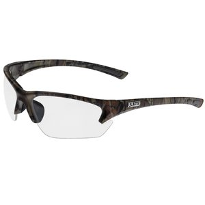 Lift Safety EQT-12CFC Qwest Protective Half Frame - Camo, Clear