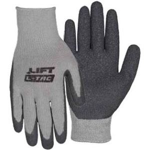 Lift Safety GPL-10YL Latex Dip Glove, Large