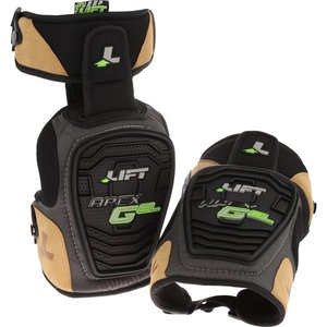 Lift Safety KAX-0K Knee Pads, Apex Gel