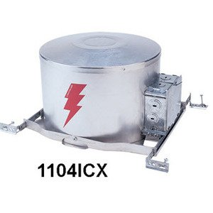 """Lightolier 1104ICX High Wattage Incandescent AirSeal Insulated Ceiling Frame-In Kit, 6-3/4"""""""