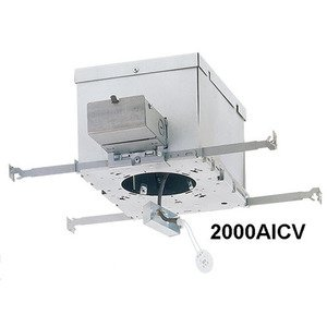 Lightolier 2000AICV IC Housing, Frame-In Kit, 3 3/4 in