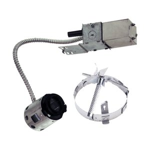 Lightolier 2000LVR Non-IC Frame-In Kit, Low Voltage, Remodeler, 3-3/4""