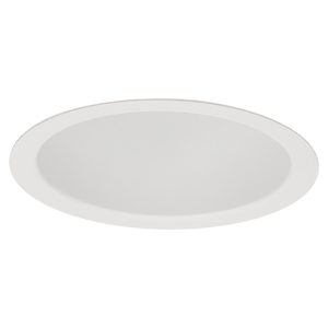 "Lightolier 2001WH Reflector Trim, 3-3/4"", White"
