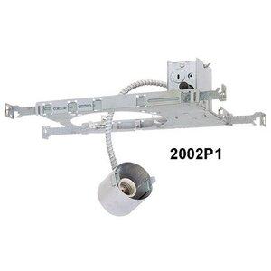 "Lightolier 2002P1 IC Frame-In Kit, Incandescent, Standard, 3-3/4"""