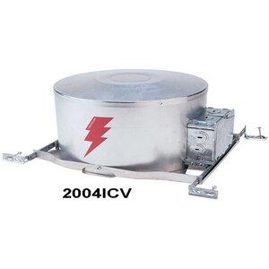 "Lightolier 2004ICV IC Frame-In Kit, Low Voltage, AirSeal, 3-3/4"""