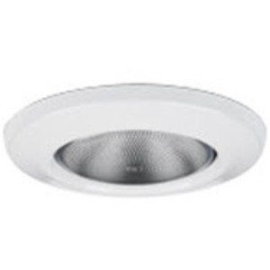 """Lightolier 2084WH Lens Free Wet Location Trim, 3-3/4"""", White"""