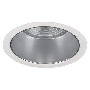 """Lightolier 2090 Flush Glass Wet Location Trim, 3-3/4"""", White"""