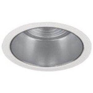 """Lightolier 2090LV Shower Trim, Flush Glass, 3-3/4"""", White"""