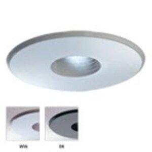 "Lightolier 308WWX Pinhole Trim, Adjustable, 3-3/4"", White"