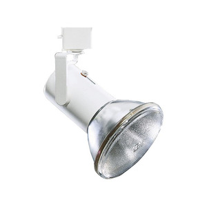 Lightolier 9021WH Track Head, Universal, 1 Lamp, 250W, White